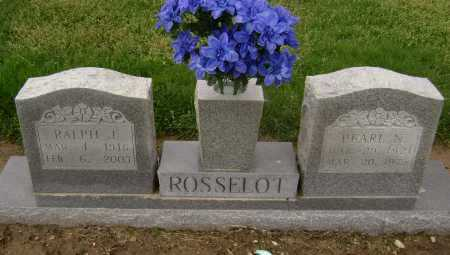 ROSSELOT, RALPH J. - Lawrence County, Arkansas | RALPH J. ROSSELOT - Arkansas Gravestone Photos