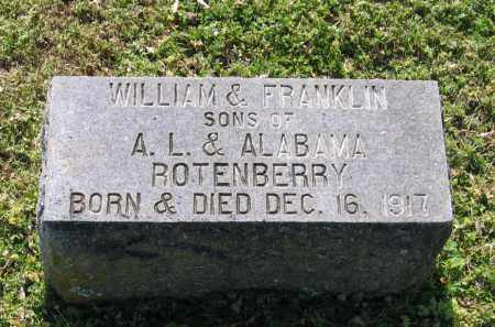 ROTENBERRY, FRANKLIN - Lawrence County, Arkansas | FRANKLIN ROTENBERRY - Arkansas Gravestone Photos