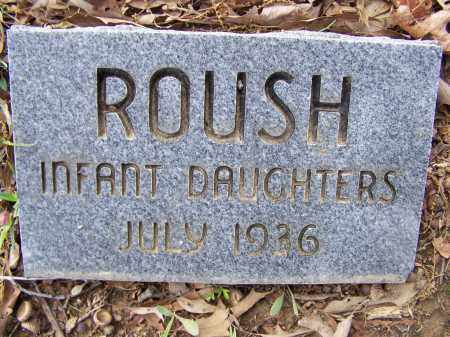 ROUSH, INFANT DAUGHTERS - Lawrence County, Arkansas | INFANT DAUGHTERS ROUSH - Arkansas Gravestone Photos