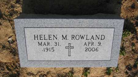 ROWLAND, HELEN - Lawrence County, Arkansas | HELEN ROWLAND - Arkansas Gravestone Photos