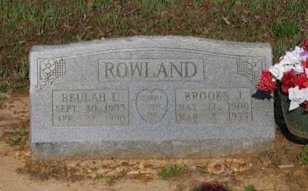 ROWLAND, JOSEPH BROOKS - Lawrence County, Arkansas | JOSEPH BROOKS ROWLAND - Arkansas Gravestone Photos