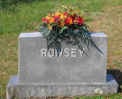 ROWSEY FAMILY STONE,  - Lawrence County, Arkansas |  ROWSEY FAMILY STONE - Arkansas Gravestone Photos