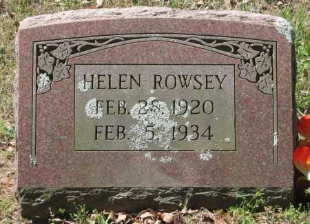 ROWSEY, HELEN - Lawrence County, Arkansas   HELEN ROWSEY - Arkansas Gravestone Photos