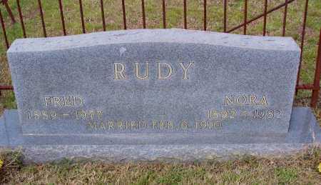 RUDY, NORA FRANCES - Lawrence County, Arkansas | NORA FRANCES RUDY - Arkansas Gravestone Photos