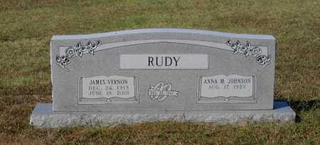 RUDY, JAMES VERNON - Lawrence County, Arkansas | JAMES VERNON RUDY - Arkansas Gravestone Photos
