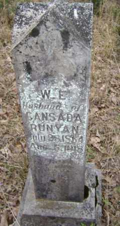 "RUNYAN, WILLIAM E. ""W. E."" ""BILLIE"" - Lawrence County, Arkansas 