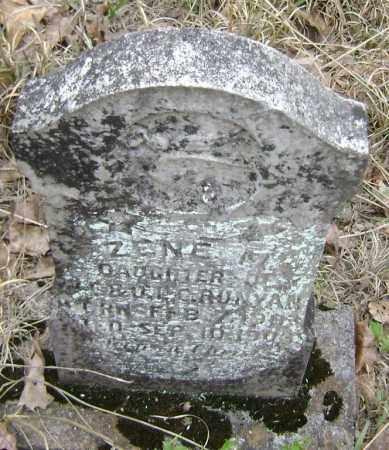 RUNYAN, ZENE M. - Lawrence County, Arkansas   ZENE M. RUNYAN - Arkansas Gravestone Photos