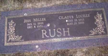RUSH, JESS MILLER - Lawrence County, Arkansas | JESS MILLER RUSH - Arkansas Gravestone Photos