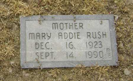 RUSH, MARY ADDIE - Lawrence County, Arkansas | MARY ADDIE RUSH - Arkansas Gravestone Photos