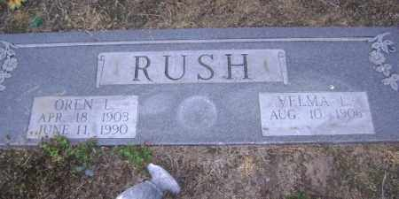 RUSH, OREN L. - Lawrence County, Arkansas | OREN L. RUSH - Arkansas Gravestone Photos