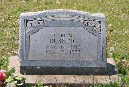 RUSHING, WALTER CARL - Lawrence County, Arkansas | WALTER CARL RUSHING - Arkansas Gravestone Photos