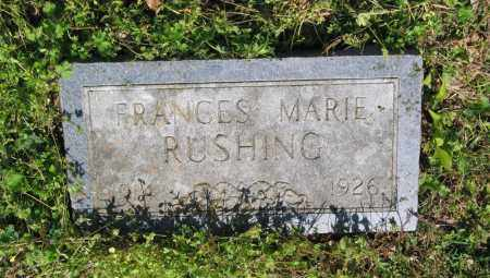 RUSHING, FRANCES MARIE - Lawrence County, Arkansas | FRANCES MARIE RUSHING - Arkansas Gravestone Photos
