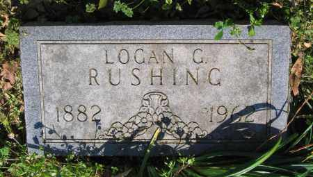 RUSHING, LOGAN GREEN - Lawrence County, Arkansas | LOGAN GREEN RUSHING - Arkansas Gravestone Photos