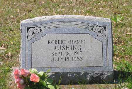 "RUSHING, ROBERT CLINTON ""HAMP"" - Lawrence County, Arkansas 