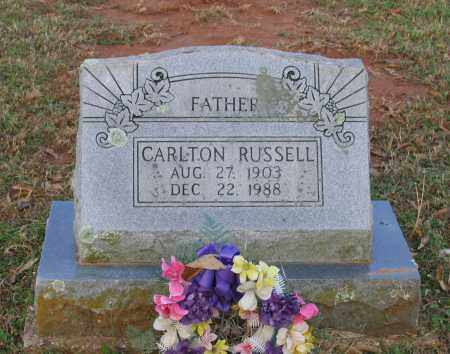 RUSSEL, CARLTON YEAGER - Lawrence County, Arkansas | CARLTON YEAGER RUSSEL - Arkansas Gravestone Photos