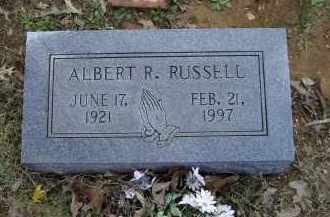 RUSSELL, ALBERT REDMAN - Lawrence County, Arkansas | ALBERT REDMAN RUSSELL - Arkansas Gravestone Photos