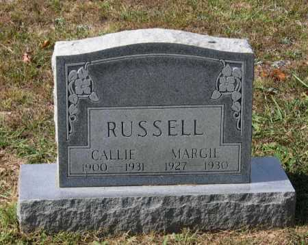 BLACKWELL RUSSELL, CALLIE M. - Lawrence County, Arkansas | CALLIE M. BLACKWELL RUSSELL - Arkansas Gravestone Photos