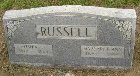 RUSSELL, MARGARET ANN - Lawrence County, Arkansas | MARGARET ANN RUSSELL - Arkansas Gravestone Photos