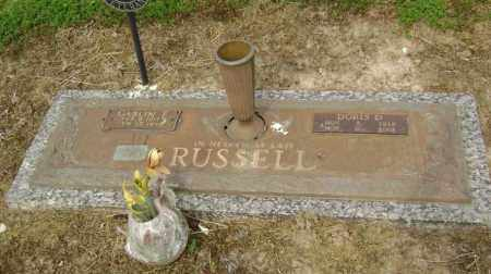 HALL RUSSELL, DORIS DORTHEAN - Lawrence County, Arkansas | DORIS DORTHEAN HALL RUSSELL - Arkansas Gravestone Photos