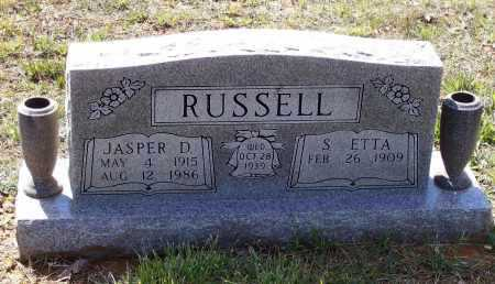 SHELTON RUSSELL, SARAH ETTA - Lawrence County, Arkansas | SARAH ETTA SHELTON RUSSELL - Arkansas Gravestone Photos