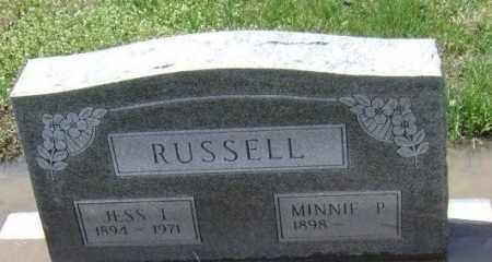 RUSSELL, JESS LEE - Lawrence County, Arkansas | JESS LEE RUSSELL - Arkansas Gravestone Photos