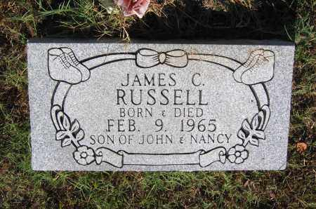 RUSSELL, JAMES C. - Lawrence County, Arkansas | JAMES C. RUSSELL - Arkansas Gravestone Photos