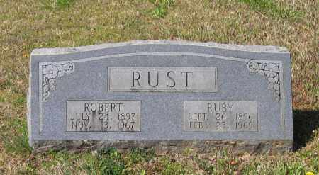 RUST, ROBERT BERNARD - Lawrence County, Arkansas | ROBERT BERNARD RUST - Arkansas Gravestone Photos