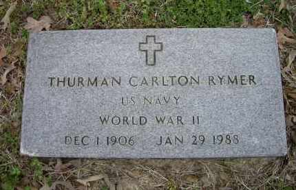 RYMER (VETERAN WWII), THURMAN CARLTON - Lawrence County, Arkansas | THURMAN CARLTON RYMER (VETERAN WWII) - Arkansas Gravestone Photos