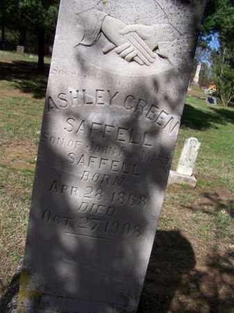 SAFFELL, ASHLEY GREEN - Lawrence County, Arkansas   ASHLEY GREEN SAFFELL - Arkansas Gravestone Photos