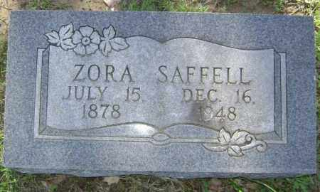 SAFFELL, ADA BELLE ZORA - Lawrence County, Arkansas | ADA BELLE ZORA SAFFELL - Arkansas Gravestone Photos