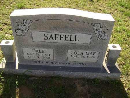 SAFFELL, WALBERT DALE - Lawrence County, Arkansas | WALBERT DALE SAFFELL - Arkansas Gravestone Photos