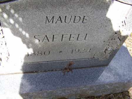 SAFFELL, ETHEL MAUDE - Lawrence County, Arkansas | ETHEL MAUDE SAFFELL - Arkansas Gravestone Photos