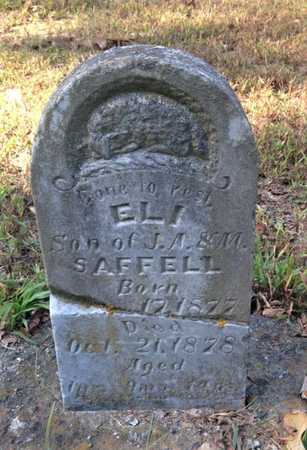 SAFFELL, ELI - Lawrence County, Arkansas | ELI SAFFELL - Arkansas Gravestone Photos