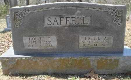 SAFFELL, HOLLIE THOMAS - Lawrence County, Arkansas | HOLLIE THOMAS SAFFELL - Arkansas Gravestone Photos