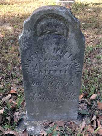 SAFFELL, JOSEPH MILLEDGE - Lawrence County, Arkansas | JOSEPH MILLEDGE SAFFELL - Arkansas Gravestone Photos
