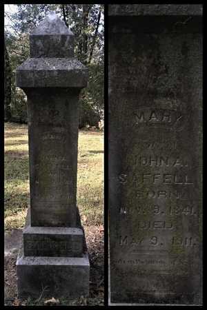 TAYLOR SAFFELL, MARY POLLY - Lawrence County, Arkansas | MARY POLLY TAYLOR SAFFELL - Arkansas Gravestone Photos
