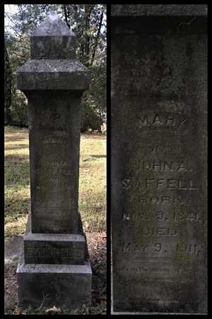 TAYLOR SAFFELL, MARY POLLY - Lawrence County, Arkansas | MARY POLLY TAYLOR SAFFELL - Arkansas Gravestone Photos