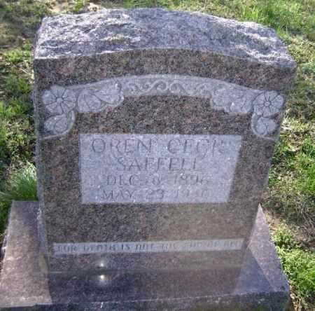 SAFFELL, OREN CECIL - Lawrence County, Arkansas | OREN CECIL SAFFELL - Arkansas Gravestone Photos