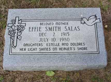 SMITH SALAS, EFFIE - Lawrence County, Arkansas | EFFIE SMITH SALAS - Arkansas Gravestone Photos