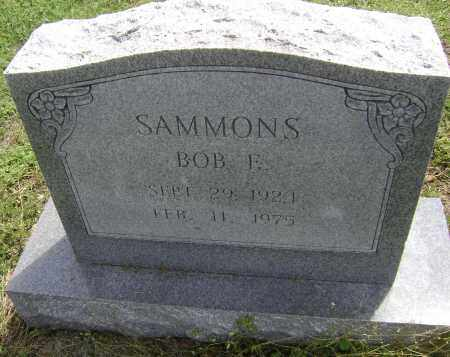 SAMMONS, BOB E. - Lawrence County, Arkansas | BOB E. SAMMONS - Arkansas Gravestone Photos