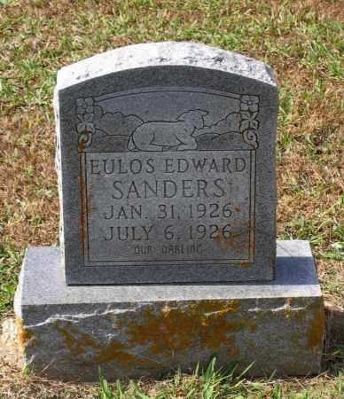 SANDERS, EULOS EDWARD - Lawrence County, Arkansas | EULOS EDWARD SANDERS - Arkansas Gravestone Photos