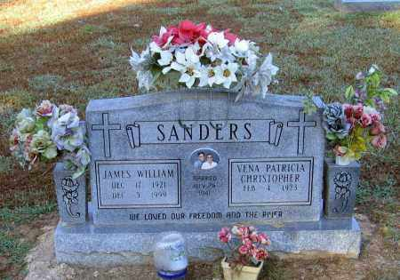 SANDERS, JAMES WILLIAM - Lawrence County, Arkansas | JAMES WILLIAM SANDERS - Arkansas Gravestone Photos