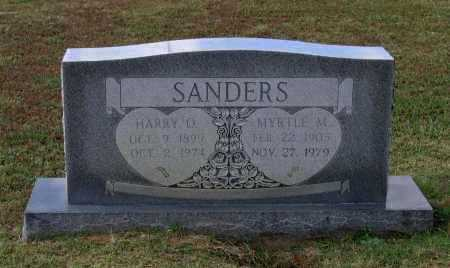 CLINTON SANDERS, MYRTLE M. - Lawrence County, Arkansas | MYRTLE M. CLINTON SANDERS - Arkansas Gravestone Photos