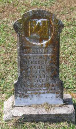 SANDERS, WILLIAM J. - Lawrence County, Arkansas | WILLIAM J. SANDERS - Arkansas Gravestone Photos