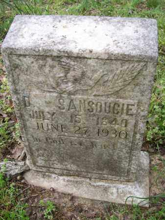 SANSOUCIE, DIAMOND - Lawrence County, Arkansas | DIAMOND SANSOUCIE - Arkansas Gravestone Photos