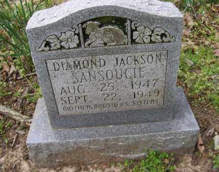 SANSOUCIE, DIAMOND JACKSON - Lawrence County, Arkansas | DIAMOND JACKSON SANSOUCIE - Arkansas Gravestone Photos