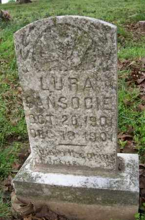 SANSOUCIE, LURA - Lawrence County, Arkansas | LURA SANSOUCIE - Arkansas Gravestone Photos