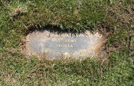 "SAVASTANO (VETERAN KOR), PEITRO WILLIAM ""PETE"" - Lawrence County, Arkansas 