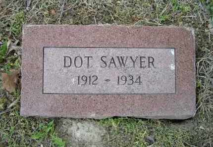 SAWYER, DOT - Lawrence County, Arkansas | DOT SAWYER - Arkansas Gravestone Photos