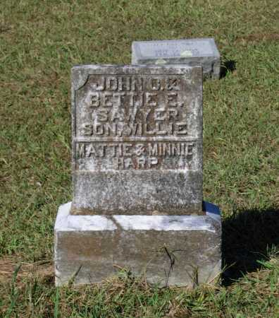 SAWYER, WILLIE - Lawrence County, Arkansas | WILLIE SAWYER - Arkansas Gravestone Photos